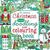 Christmas Pocket Doodling and Colouring book (Paperback)