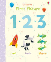 First Picture 123 - First Picture Books (Board book)