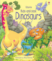Hide and Seek Dinosaurs (Board book)
