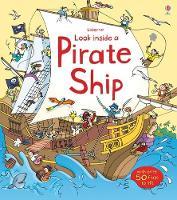 Look Inside Pirate Ship - Look Inside Board Books (Hardback)