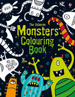 Monsters Colouring Book - Usborne Colouring Books (Paperback)