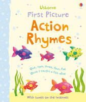 First Picture Action Rhymes - First Picture Books (Board book)