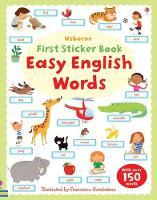 Easy English Words Sticker Book - First Sticker Books (Paperback)