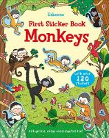 First Sticker Book Monkeys - First Sticker Books (Paperback)
