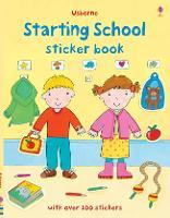 Starting School Sticker Book - Getting Dressed Sticker Books (Paperback)