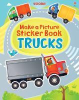 Make a Picture Sticker Book Trucks - Make a Picture (Paperback)
