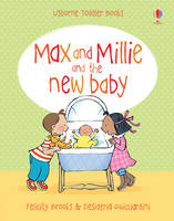 The New Baby - Max and Millie (Board book)