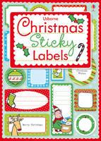Christmas Sticky Labels (Paperback)