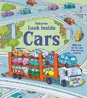 Look Inside Cars - Look Inside Board Books (Board book)
