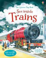 See Inside Trains - See Inside (Board book)