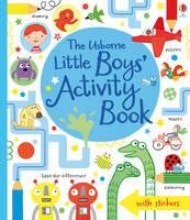 Little Boys' Activity Book (Paperback)
