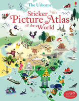 Sticker Picture Atlas of the World - Sticker Picture Atlas (Paperback)