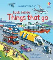 Look Inside Things That Go - Look Inside (Board book)
