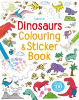Dinosaurs Sticker & Colouring Book - Sticker and Colouring Books (Paperback)