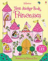First Sticker Book Princesses - First Sticker Books series (Paperback)