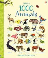 1000 Animals - 1000 Pictures (Board book)