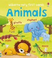 Animals - Very First Words (Board book)