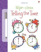 Wipe-clean Telling the Time - Wipe-Clean (Paperback)
