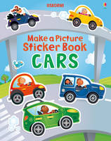 Make a Picture Sticker Book Cars - Make a Picture (Paperback)