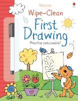 Wipe-clean First Drawing - Wipe-Clean (Paperback)