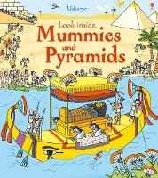 Look Inside Mummies & Pyramids - Look Inside (Board book)