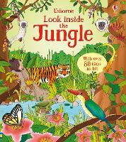 Look Inside the Jungle - Look Inside (Board book)