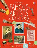 Famous Artists Sticker Book - Information Sticker Books (Paperback)