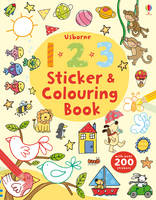 123 Sticker and Colouring Book - Sticker and Colouring Books (Paperback)