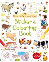 Farmyard Tales Colouring and Sticker Book (Paperback)