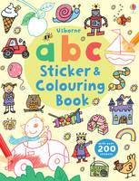 ABC Sticker and Colouring Book - Sticker & Colouring Book (Paperback)