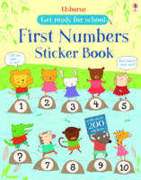 First Numbers Sticker Book - Get Ready for School Sticker Book (Paperback)