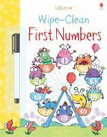 Wipe-clean First Numbers - Wipe-Clean (Paperback)