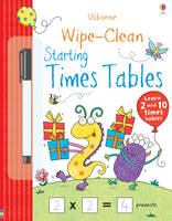Wipe-clean Starting Times Tables - Wipe-Clean (Paperback)