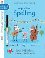 Wipe-clean Spelling 7-8 - Key Skills (Paperback)