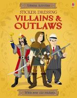 Sticker Dressing Villains and Outlaws - Sticker Dressing (Paperback)