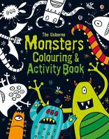 Monsters Colouring and Activity Book (Paperback)