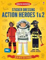 Sticker Dressing Action Heroes 1 and 2 (Paperback)