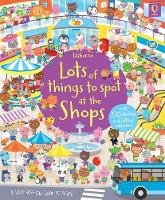 Lots of Things to Spot at the Shops Sticker Book (Paperback)