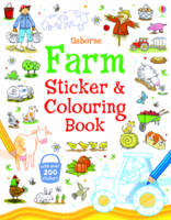 Farm Sticker and Colouring Book - Sticker and Colouring Books (Paperback)