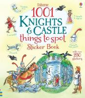 1001 Knights and Castles to Spot Sticker Book - 1001 Things (Paperback)