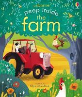 Peep Inside the Farm - Peep Inside (Board book)