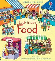 Look Inside Food - Look Inside (Board book)