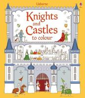 Knights and Castles to Colour - Colouring Books (Paperback)