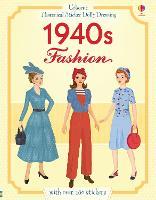 Historical Sticker Dolly Dressing 1940s Fashion - Historical Sticker Dolly Dressing (Paperback)