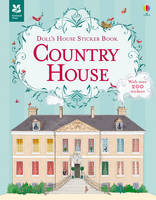 Doll's House Sticker Book Country House - Doll's House Sticker Books (Paperback)