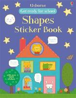 Get Ready for School First Shapes Sticker Book - Get Ready for School Sticker Books (Paperback)
