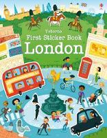 First Sticker Book London - First Sticker Books (Paperback)