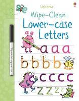 Wipe-clean Lower-case Letters - Wipe-Clean (Paperback)