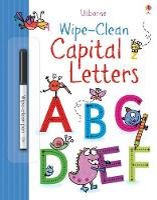 Wipe-clean Capital Letters - Wipe-Clean (Paperback)