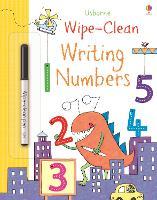 Wipe-clean Writing Numbers - Wipe-Clean (Paperback)